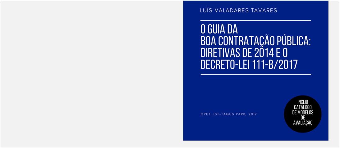 Novo Livro do Professor Luís Valadares Tavares